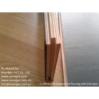 Quality White Oak Engineered Flooring with EVA back wholesale