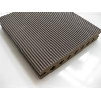 China Dampproof Wpc Wood Plastic Composite Flooring Groove Economical on sale