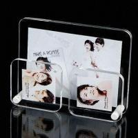 Quality Glass Photo/Picture Frame, Made of Acrylic, Crystal, Glass, Available in Various Designs and Colors wholesale