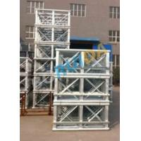Cheap Red Painted Double Cage Man And Material Hoist 1600kg , Building Materials Lift for sale