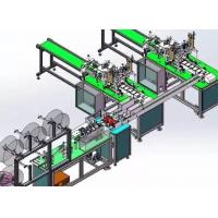 Quality Full Automatic Disposable Mask Making Machine Stable Control Adjustable Speed wholesale
