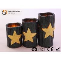 Quality CE / RoHS Approved Halloween Battery Operated Candles 7.5cm Diameter wholesale