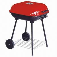 Quality 18 hamburger style barbecue grill, made of cold-rolled iron, measures 47.5x47.5x64cm wholesale