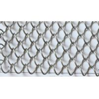 Quality Metal Coil Drapery Wire Mesh Fabric For Architectural Decoration wholesale
