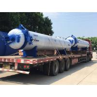 Automatic hot presser vulcanization tank autoclave with PLC system and cylindric