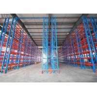 China Pitch 75mm Drive In Drive Through Racking System , Drive In Warehouse Racking on sale