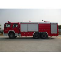 Quality Dry Powder / Foam Fire Service Truck , Piston Primer Pump Modern Fire Truck wholesale