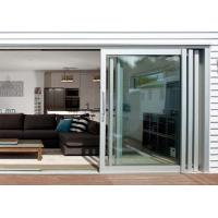 Quality Commercial Aluminium Doors Stacking Sliding Glass Doors With Top Brand Accessory wholesale