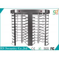 China Appearance Rust-proof Full Height Turnstile For Library Entrance Managerment on sale