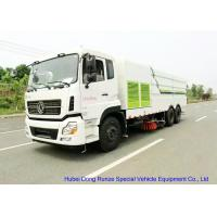Quality KL 6x4 LHD / RHD Road Sweeper Truck , Mechanical Street Sweeper for Washing wholesale