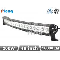 Quality 40 Inch Curved Cree Chip 240W Led Light Bar 2 Years Warranty Waterproof wholesale