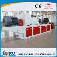 China Window Pvc Profile Manufacturing Machine , Polymer Extrusion Machine Non Pullution on sale
