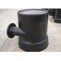 China Casting Ductile Iron Pipe Fittings Socket Spigot Level Invert Tee Flange Connection on sale