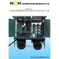 China Oil purifier, oil recycling, Sino-NSH portable transformer oil reprocessing equipment on sale
