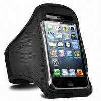 China Brand New Black Sport Arm/Gym Band Case Pouch for iPhone 5 on sale