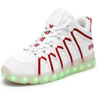 Quality Street Dancer Led Light Up Shoes , Breathable Fiber Light Up Sneakers For Adults wholesale