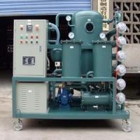 China High Vacuum Transformer Oil Purifier Oil Purifying Oil Handling Equipment on sale