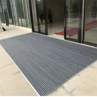 Quality high effective anti slip aluminum entrance mat with different thickness best dust control mat wholesale