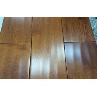 China hand scraped maple solid wood flooring on sale