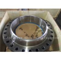 Quality Non-Standard  Or Customized Stainless Steel Flange PED Certificates ASME / ASTM-2013 wholesale