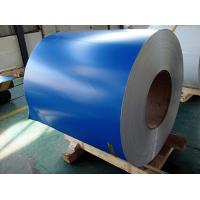 Quality PE PVDF Paint Aluminium Colour Coated Coils , Color Coated Coil Thickness 0.20-3.00mm wholesale