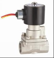 Quality SS304 Piston High Pressure Solenoid Valve 50mm For Steam / Gas / Corrosive Fluids wholesale