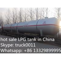 Quality hot sale 20ton bulk LPG gas storage tank, factory price LPG for sale, cheapest price and high quality LPG tank wholesale
