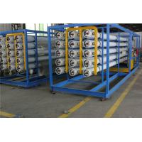 Quality RO Membrane Type Seawater Desalination Plant Stainless steel / Carbon Steel Material wholesale