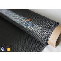 Quality 3K 280g 0.34mm Plain Weave Silver Carbon Fiber Fabric For Structure Reinforcement wholesale