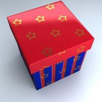 Quality Fancy Coated Paper Box for Gift Packaging with Lid wholesale