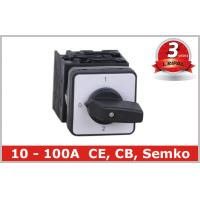 Quality Industrial Universal Change Over Switch For Generator , AC 50HZ 60HZ wholesale