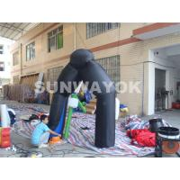 China Holiday inflatable halloween yard decorations Blow Up Arhcway For Party on sale