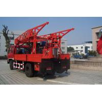 China Truck Mounted Hydraulic Portable Drilling Rigs For Water Well on sale