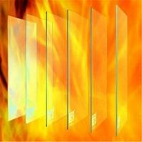 Quality 8mm Sigle Fire proof glass for commercial office building door and windows wholesale