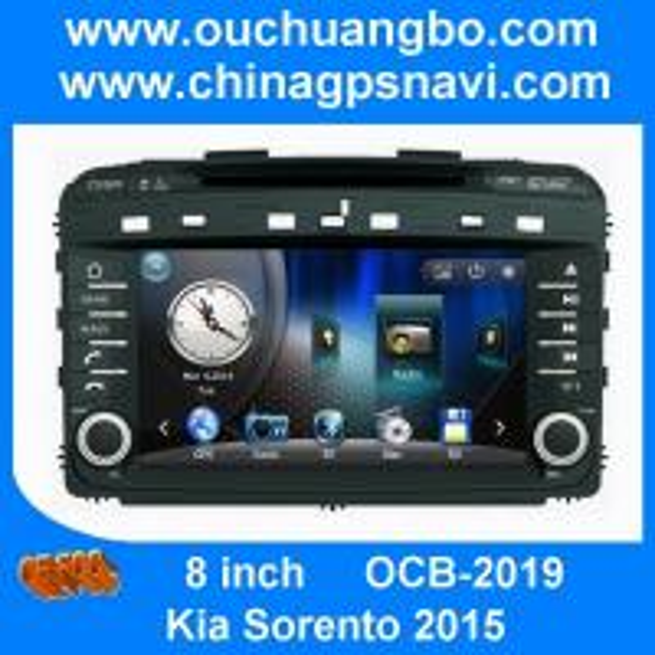 Cheap Ouchuangbo autoradio DVD stereo navi radio Kia Sorento 2015 support iPod USB Map Russian for sale