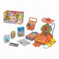 China Hot-selling Children's Electronic Toy/Cash Register and Good for Them, Fashionable Design on sale