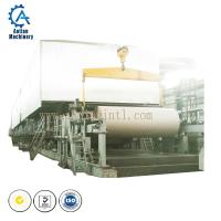 China 1575mm finely processed fluting paper making machine for recycling waste paper on sale