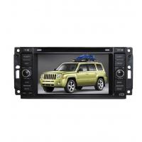 Cheap Chrysler / Dodge / Jeep Car GPS Navigation System By Steering Wheel Control for sale