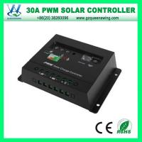 China Auto 12V/24V 30A PWM Solar Charge Controller (QWP-1430E) on sale