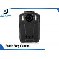 Cheap 1296P Portable Police Body Cameras Black With 2.0 Inch LCD Display for sale