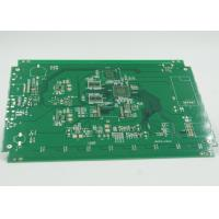 Quality Fiducial Mark Added Double Side PCB Gold Surface Plating PTH / NPTH Vias wholesale