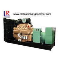 Buy cheap Electronic 800kw Diesel Generator with KT38 - G2A Cummins Engine , Brushless Four Stroke product