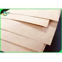 Quality High Tear Resistance Brown Sack Kraft Paper 90GSM For Bags Making wholesale