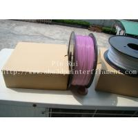 Cheap High Quality 3D Printer Filament PLA 1.75mm 3mm For White To Purple  Light change  filament for sale