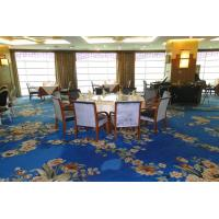 China Royal Wool Hand Tufted Meeting Room Carpet , Modern Soft Dining Room Rug on sale