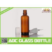 Quality China Supplier  Big Sell 100ml Amber Glass Bottle Essential Oil Use wholesale