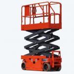 Quality Vertical Electric Mobile Scissor Lift / Scaffolding Aerial Lift Work Platform wholesale