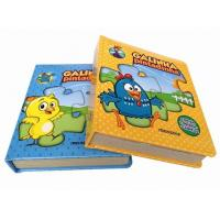 Quality Colorful OEM custom Hardcover Children puzzle board book printing wholesale