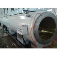 Quality Twin Screw Customized PVC Pipe Extrusion Line With High Speed And Capacity wholesale