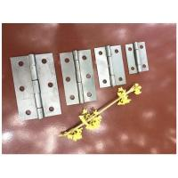 Metal Steel Iron Door Hinges Courraged Box Packing Customized Size Color